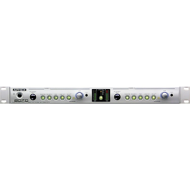 Aphex207D Tube Microphone/Instrument Preamp with Digital Out