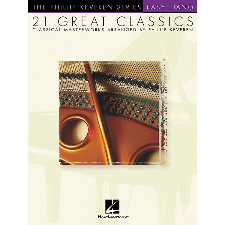 Hal Leonard21 Great Classics - Phillip Keveren Series For Easy Piano