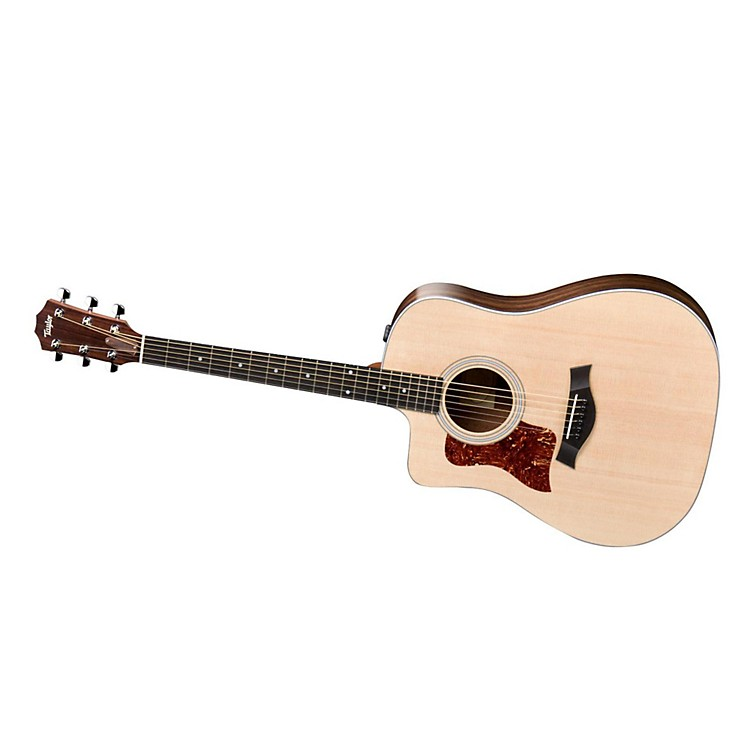 Taylor210ce-L Rosewood/Spruce Dreadnought Left-Handed Acoustic-Electric Guitar