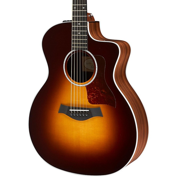 Taylor214ce Deluxe Grand Auditorium Cutaway Acoustic-Electric Guitar