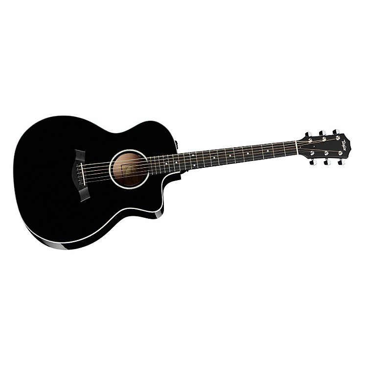 Taylor 214ce Rosewood/Spruce Grand Auditorium Acoustic-Electric Guitar Black