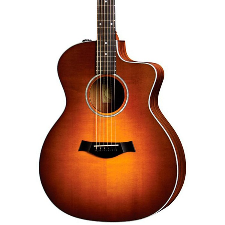 Taylor 214ce Rosewood/Spruce Grand Auditorium Acoustic-Electric Guitar Tobacco Sunburst