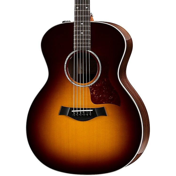 Taylor214e DLX Grand Auditorium Acoustic-Electric GuitarTobacco Sunburst