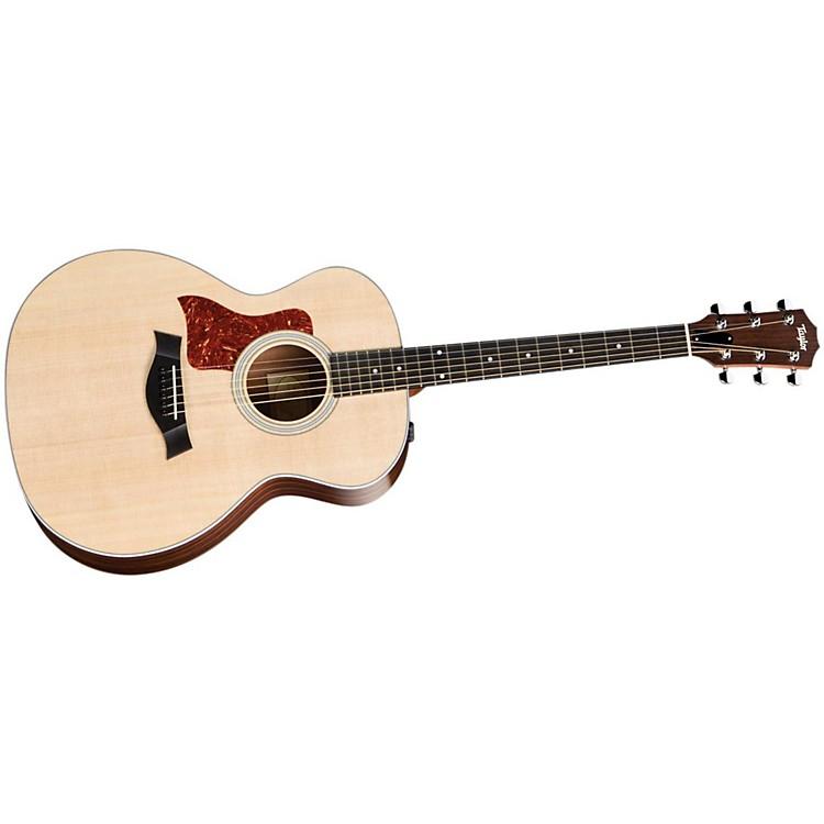 Taylor214e Left-Handed Grand Auditorium Acoustic-Electric Guitar (2010 Model)
