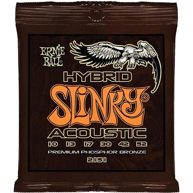 Ernie Ball2151 Hybrid Slinky Acoustic Guitar Strings
