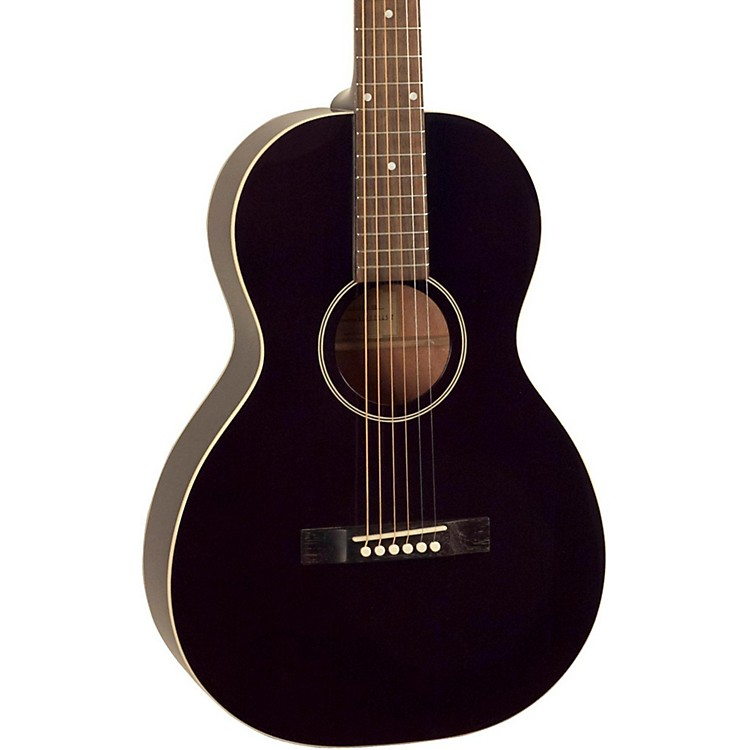 The Loar216 O-Style Small Body Acoustic GuitarClassic Black