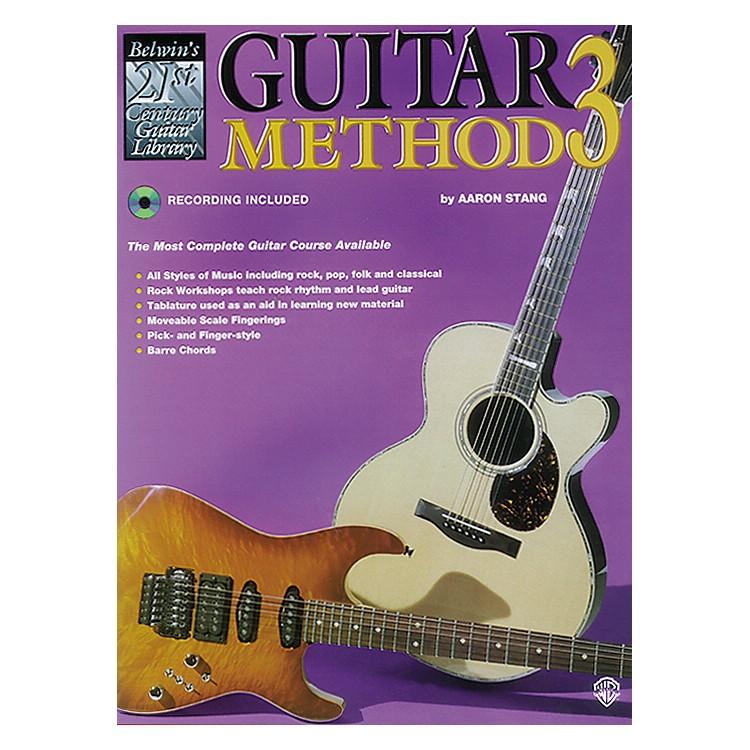 Alfred21st Century Guitar Method 3 Book/CD
