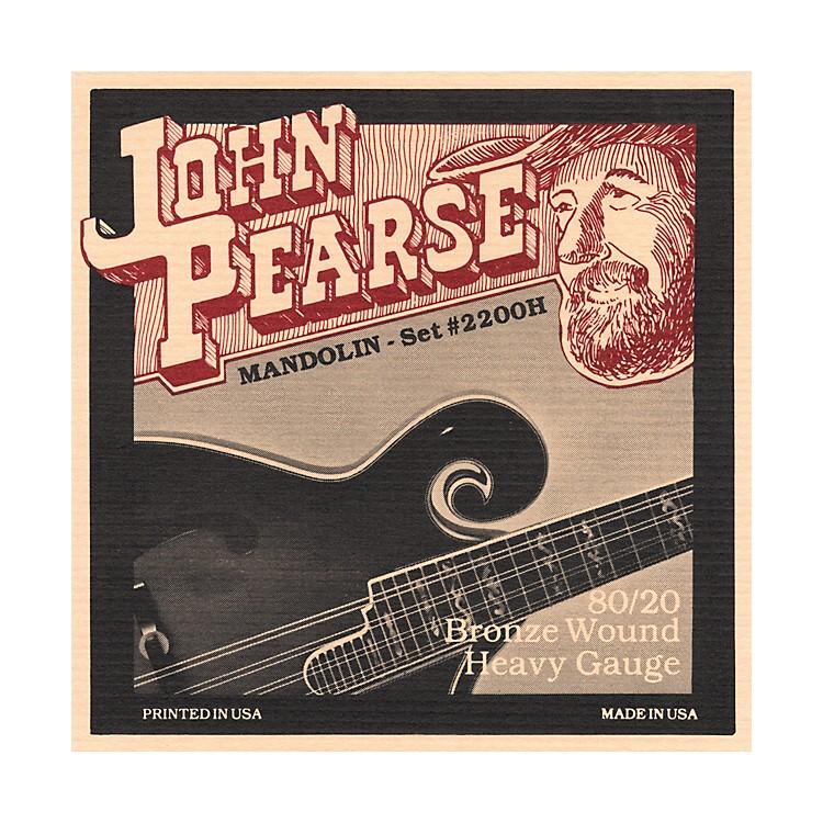 John Pearse2200H Heavy Gauge Mandolin Strings
