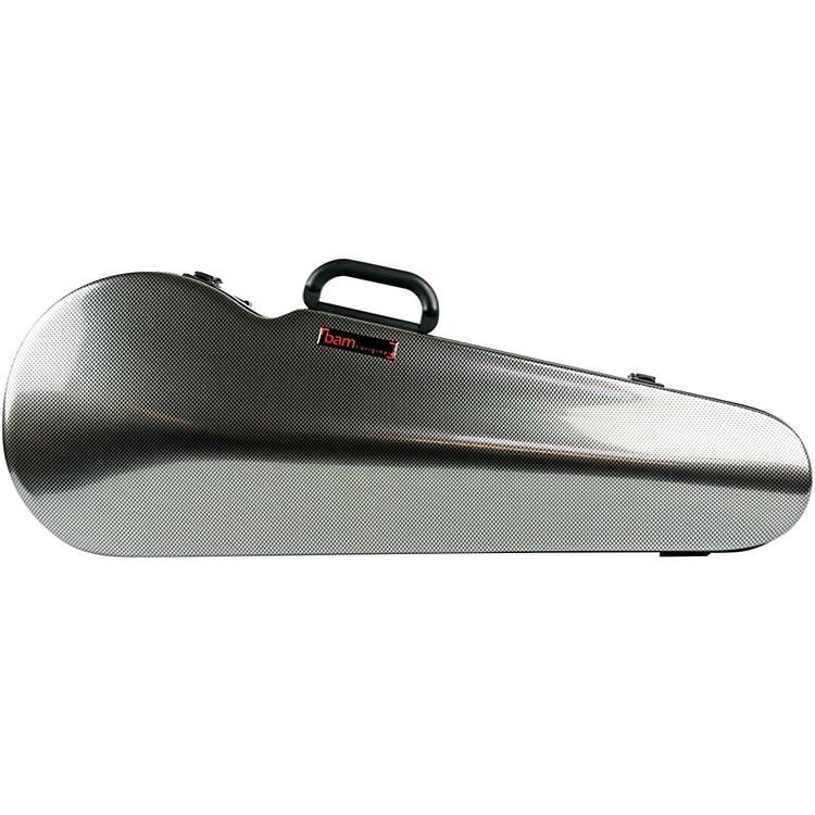 Bam2200XL Contoured Hightech Adjustable Viola CaseSilver Carbon