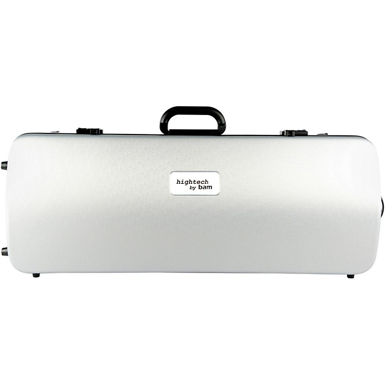 Bam2201XL Hightech Large Adjustable Viola Case without PocketMetallic Silver