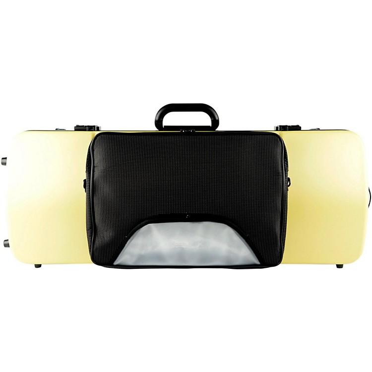 Bam2202XL Hightech Large Adjustable Viola Case with PocketMetallic Silver