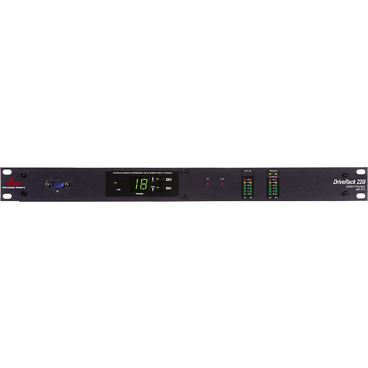 dbx220i 2X2 Loudspeaker Management System with Display
