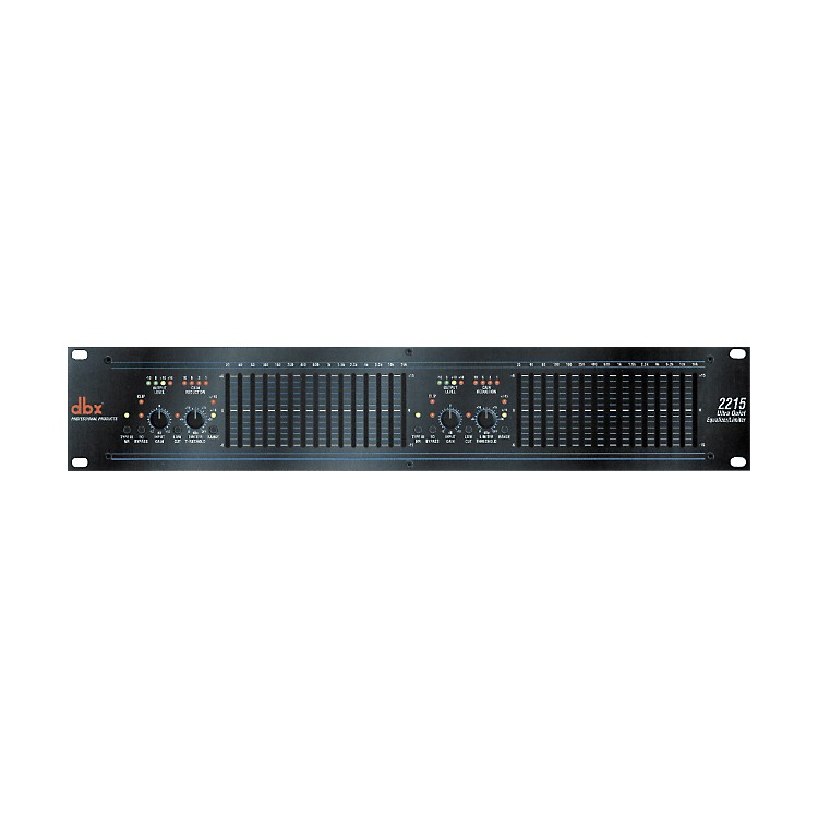 dbx 2215 Dual-Channel 15-Band Equalizer/Limiter