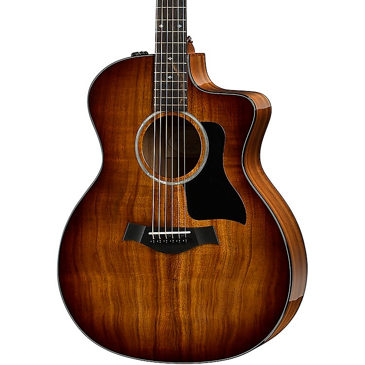 Taylor 224ce-K DLX Grand Auditorium Acoustic-Electric Guitar Shaded Edge Burst