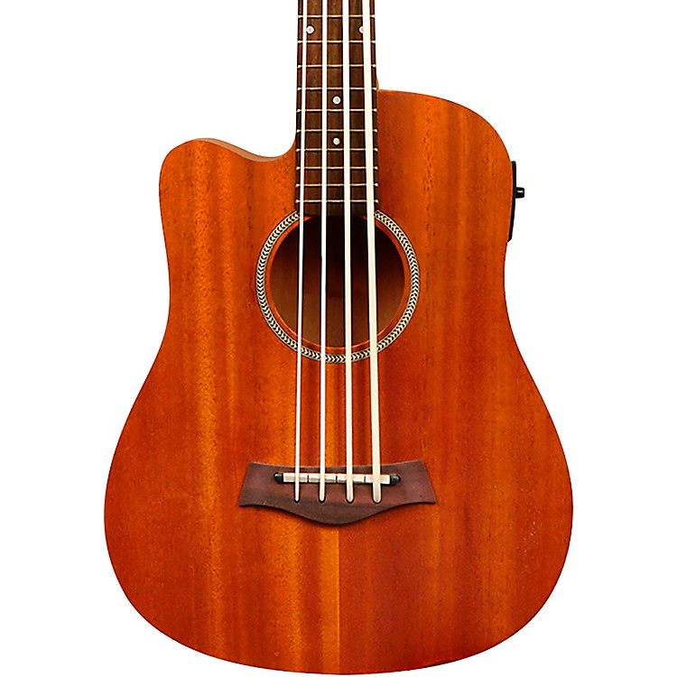 Gold Tone 23-Inch Scale Left-Handed Acoustic-Electric MicroBass with Gig Bag