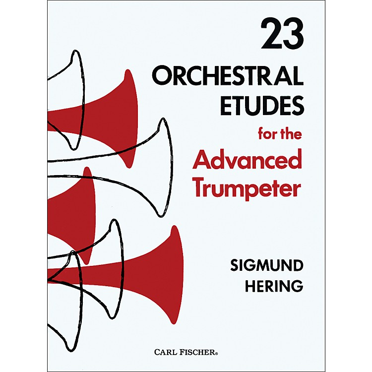 Carl Fischer23 Orchestral Etudes for the Advanced Trumpeter