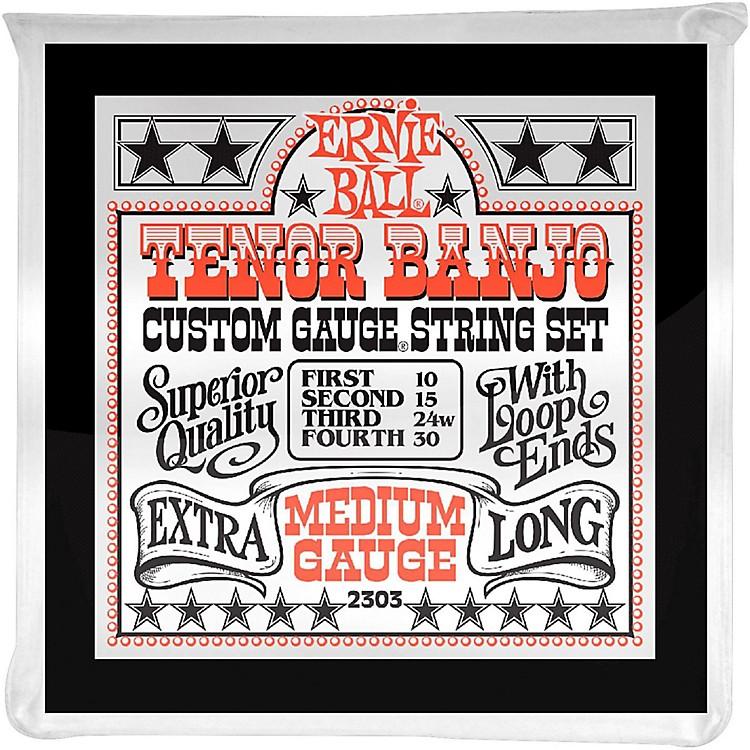 Ernie Ball2303 Medium Gauge Tenor Banjo Strings