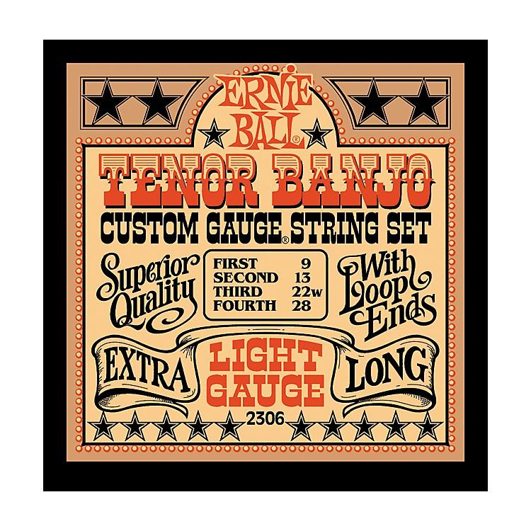 Ernie Ball2306 Light Gauge Tenor Banjo Strings
