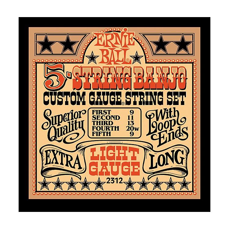 Ernie Ball2312 Light Gauge 5-String Banjo Strings