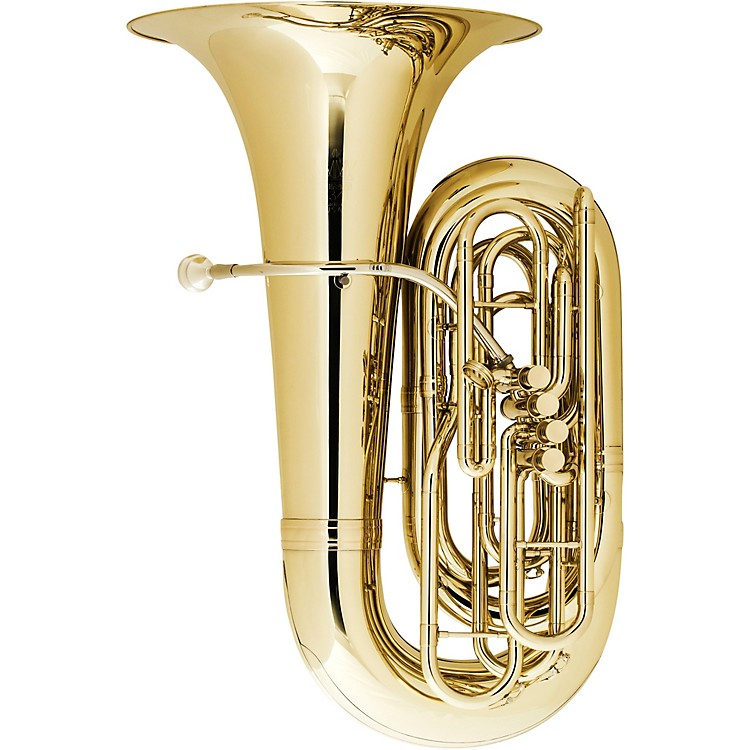 King 2341W Series 4-Valve 4/4 BBb Tuba 2341WS Silver With Case