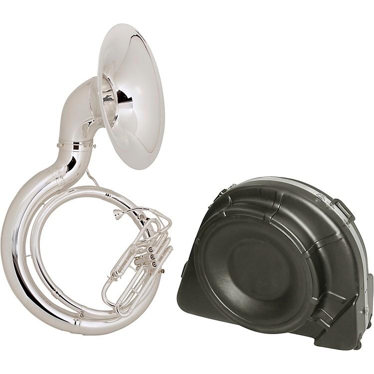 King2350 Series Brass BBb Sousaphone2350SB Satin Silver - Instrument Only