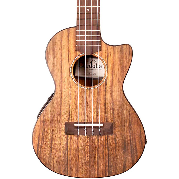 Cordoba 23T-CE Tenor Acoustic-Electric Ukulele Natural