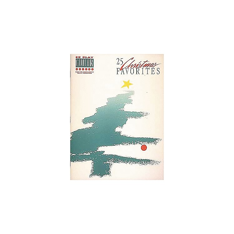 Hal Leonard25 Christmas Favorites Easy Guitar Book