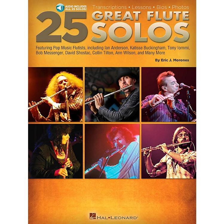 Hal Leonard25 Great Flute Solos Book/Audio Online