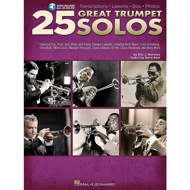 Hal Leonard25 Great Trumpet Solos Book/Online Audio includes Transcriptions * Lessons * Bios * Photos