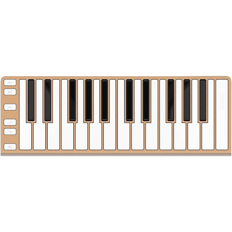CME25 Key Mobile Keyboard ControllerChampagne