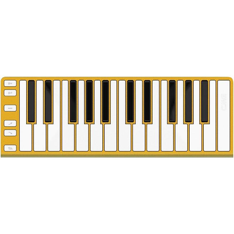 CME25 Key Mobile Keyboard ControllerGold