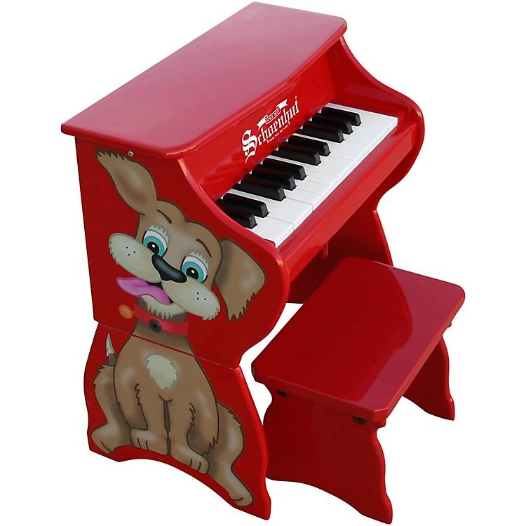 Schoenhut25-Key Toy Piano with BenchRed