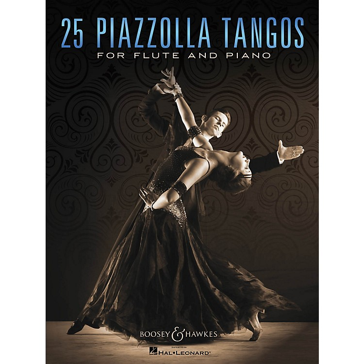 Boosey and Hawkes25 Piazzolla Tangos for Flute and Piano Boosey & Hawkes Chamber Music Series Softcover