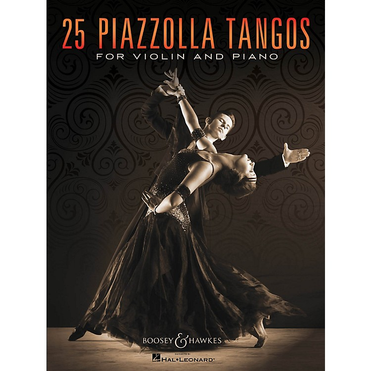 Boosey and Hawkes 25 Piazzolla Tangos for Violin and Piano Boosey & Hawkes Chamber Music Series Softcover