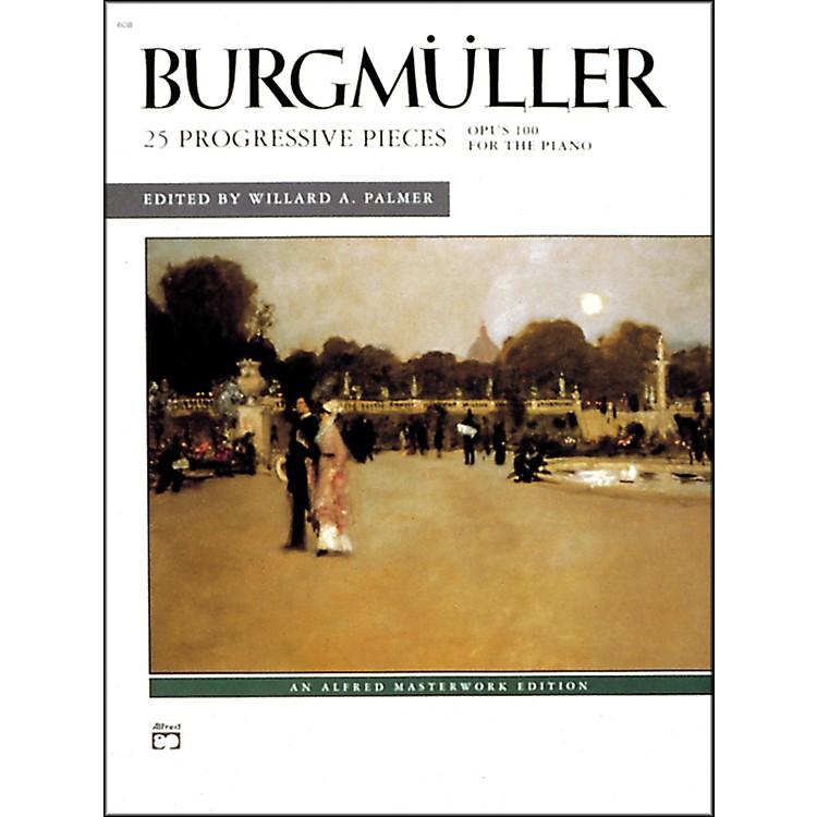 Alfred25 Progressive Pieces Op. 100 Early Intermediate/Late Intermediate Piano