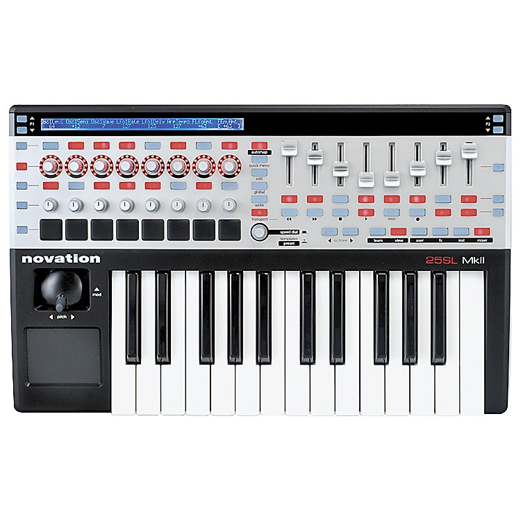 Novation 25 SL MkII Keyboard Controller