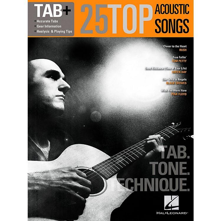 Hal Leonard25 Top Acoustic Songs-Tab. Tone. Technique.