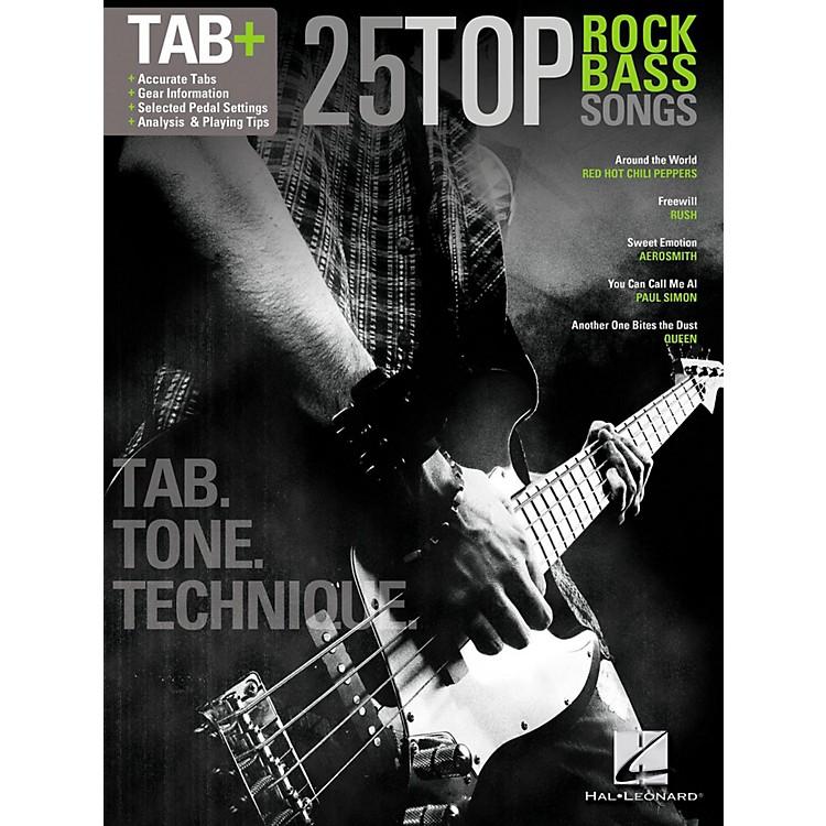 Hal Leonard25 Top Rock Bass Songs - Tab. Tone. & Technique. (Tab+)
