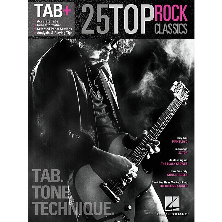 Hal Leonard25 Top Rock Classics - Tab. Tone. Technique. (Tab+)