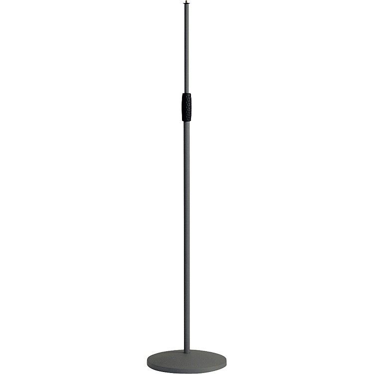 K&M 26010-500-55 Microphone Stand with Cast Iron Base Black