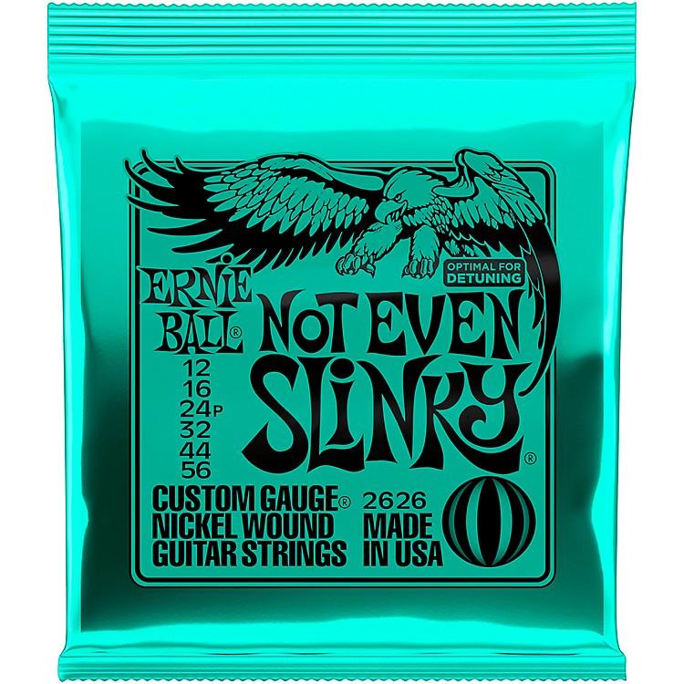 Ernie Ball2626 Nickel Not Even Slinky Drop Tuning Electric Guitar Strings
