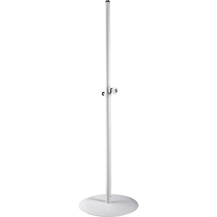K&M26735.000.76 White Round Base Speaker Stand