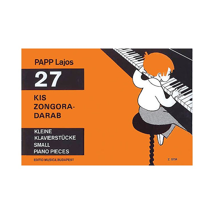Editio Musica Budapest27 Small Piano Pieces EMB Series Composed by Lajos Papp