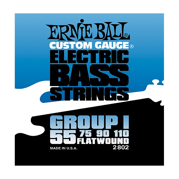 Ernie Ball 2802 Flat Wound Group I Electric Bass Strings