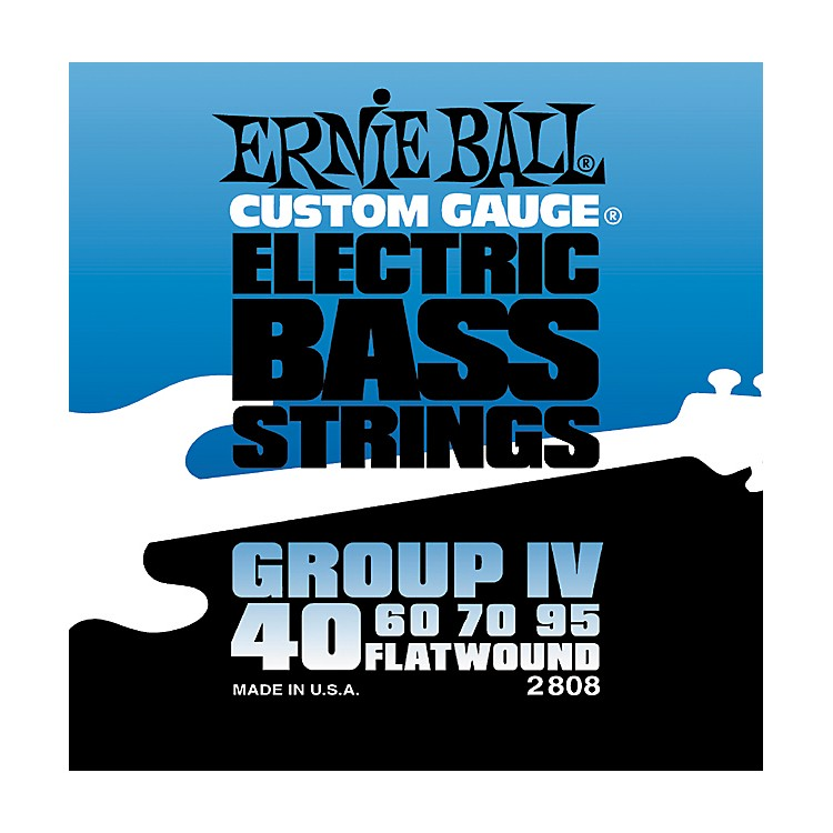 Ernie Ball2808 Flat Wound Group IV Electric Bass Strings