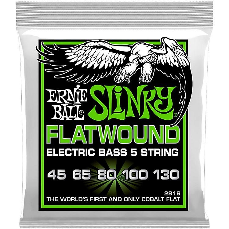 Ernie Ball2816 Slinky Flatwound 5-String Bass Strings