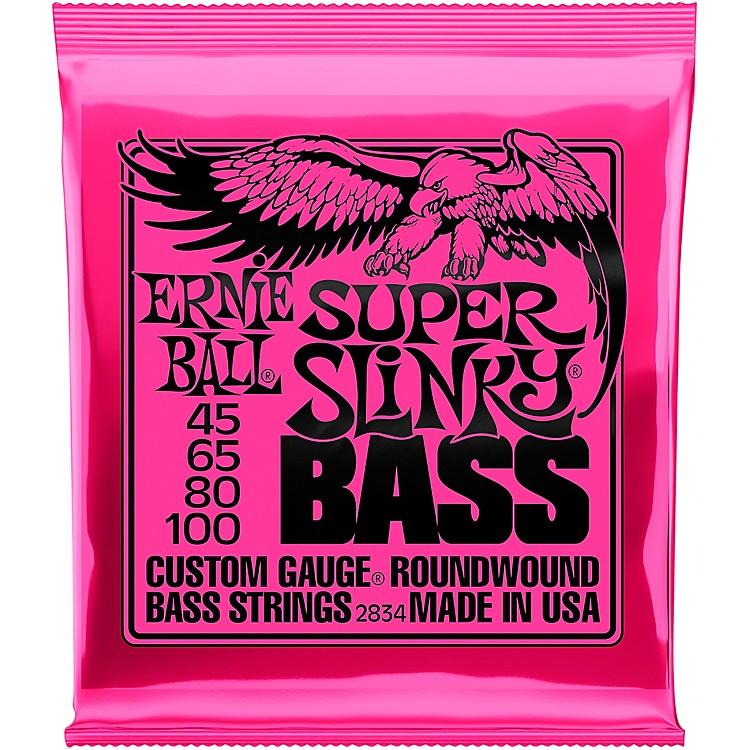 Ernie Ball2834 Super Slinky Roundwound Bass Strings