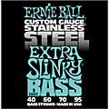 Ernie Ball2845 Extra Slinky Stainless Steel Bass Strings-thumbnail