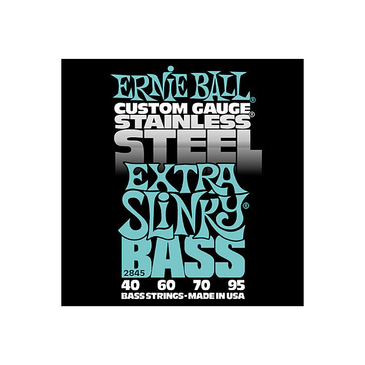 Ernie Ball2845 Extra Slinky Stainless Steel Bass Strings