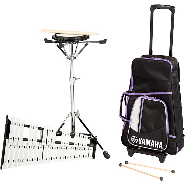 Yamaha285 Series Mini Bell Kit with Backpack and Rolling Cart